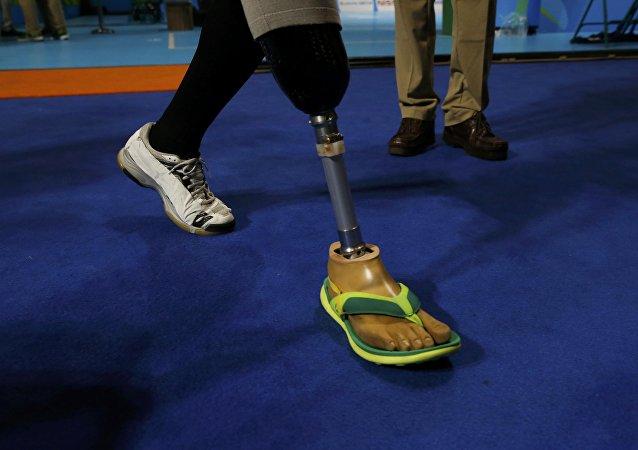 Un atleta paralímpico en Río de Janeiro