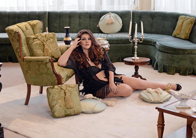 María Eugenia Donoso, modelo ecuatoriana