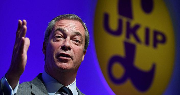 Nigel Farage, líder del Partido por la Independencia de Reino Unido