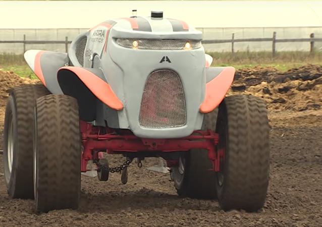 Ensayos del tractor no tripulado ruso