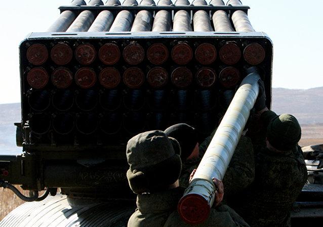 Lanzacohetes múltiple ruso Tornado