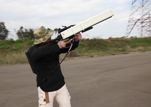 Conozca a Skynet, el novedoso 'cañón antidrones'