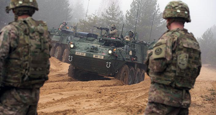 Soldados de la OTAN en Letonia