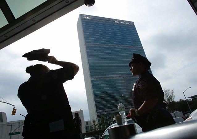 Las policías de Nueva York después de la explosión del 17 de septiembre