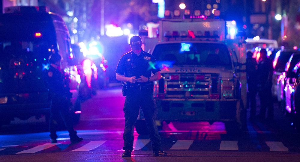 Policía en Nueva York (archivo)