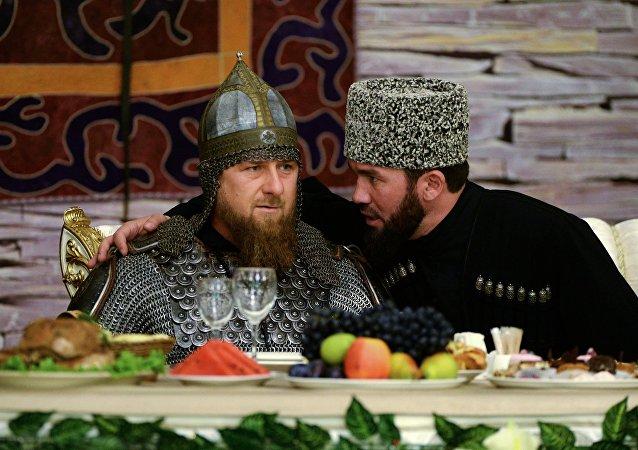 Ramzán Kadírov, dirigente en funciones de la República rusa de Chechenia