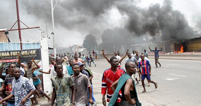 Choques de opositores con la policía en Congo Democrático (archivo)