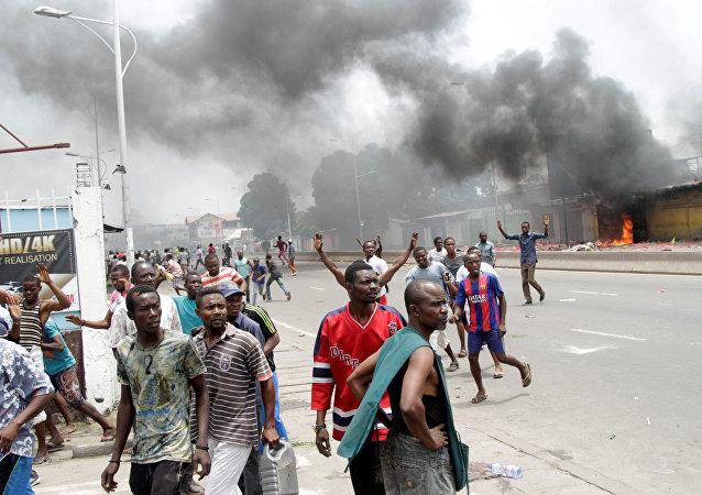 Enfrentamientos en Congo (archivo)