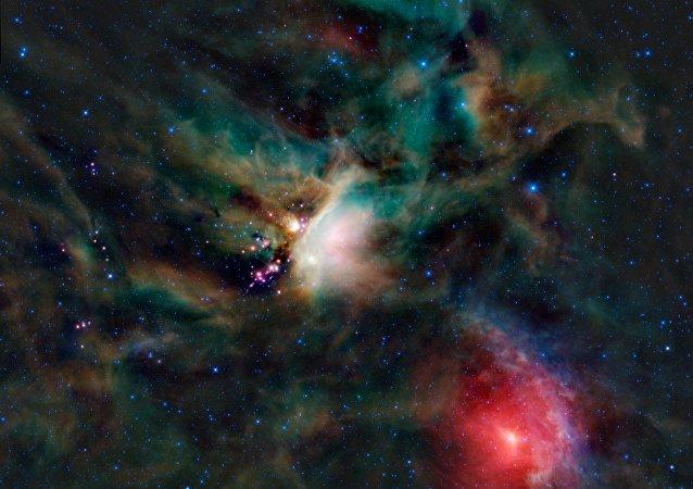 La nube molecular en la constelación de Ofiuco