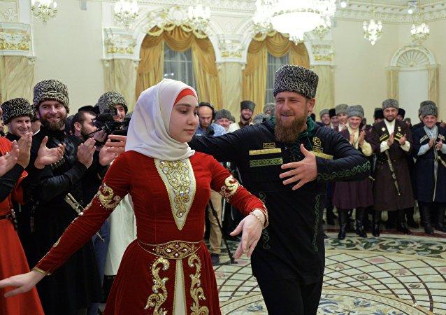 Las celebraciones del Día de la Mujer Chechena