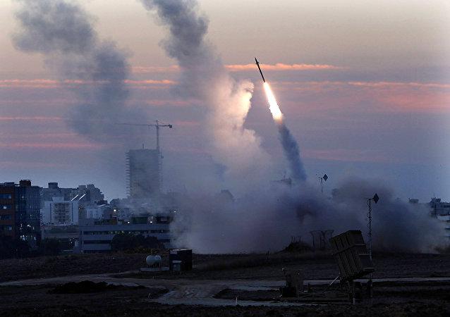Misiles lanzados desde Israel