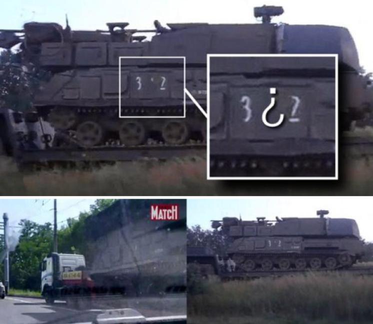 Fotos usadas por Bellingcat en su informe con el fin de comprobar la implicación de la 53ª brigada antiaérea de Rusia en el derribo del MH17