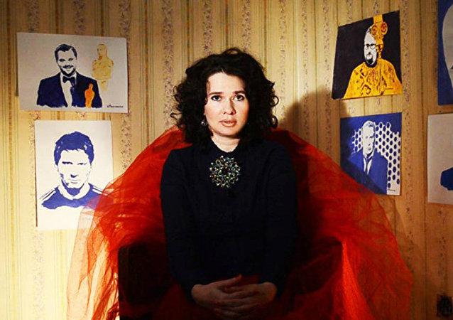 Irina Romanóvskaya, pintora rusa