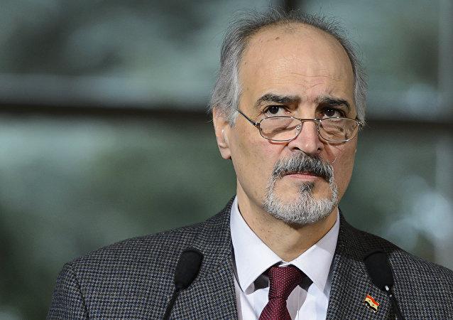 Bashar Jaafari, jefe de la delegación del Gobierno sirio en las negociaciones en Ginebra