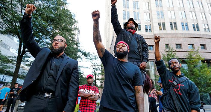 Protesta contra la violencia policial
