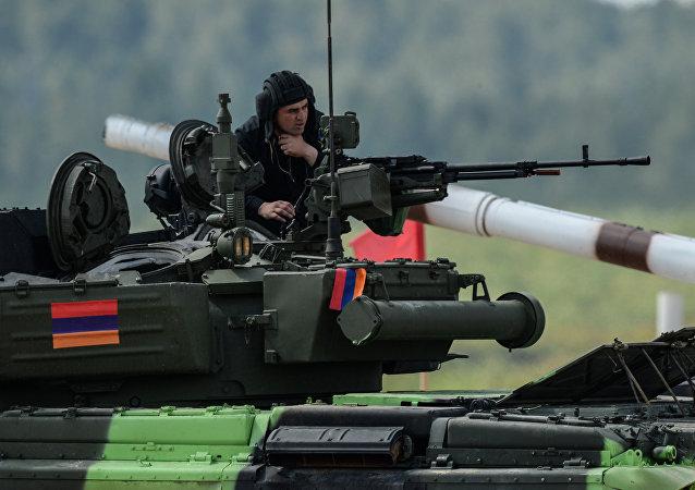 El tanque de Armenia (archivo)
