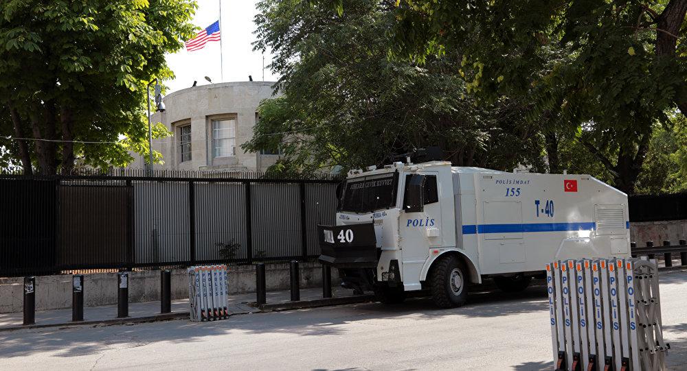 Embajada de EEUU en Ankara, Turquía (archivo)