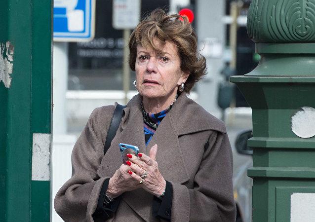 Neelie Kroes, la antigua comisaria de Competencia de la Comisión Europea
