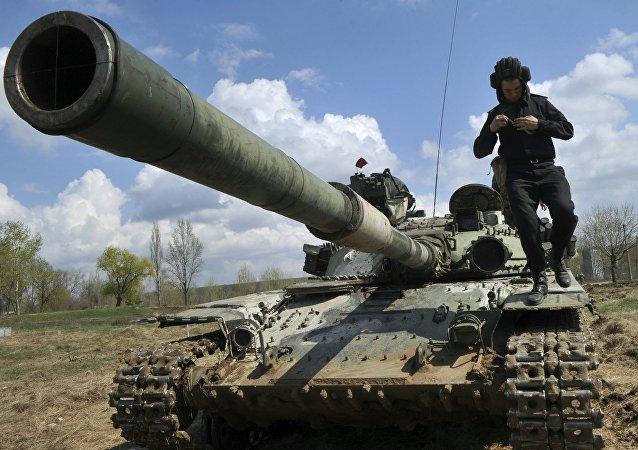 Maniobras militares en Ucrania (archivo)