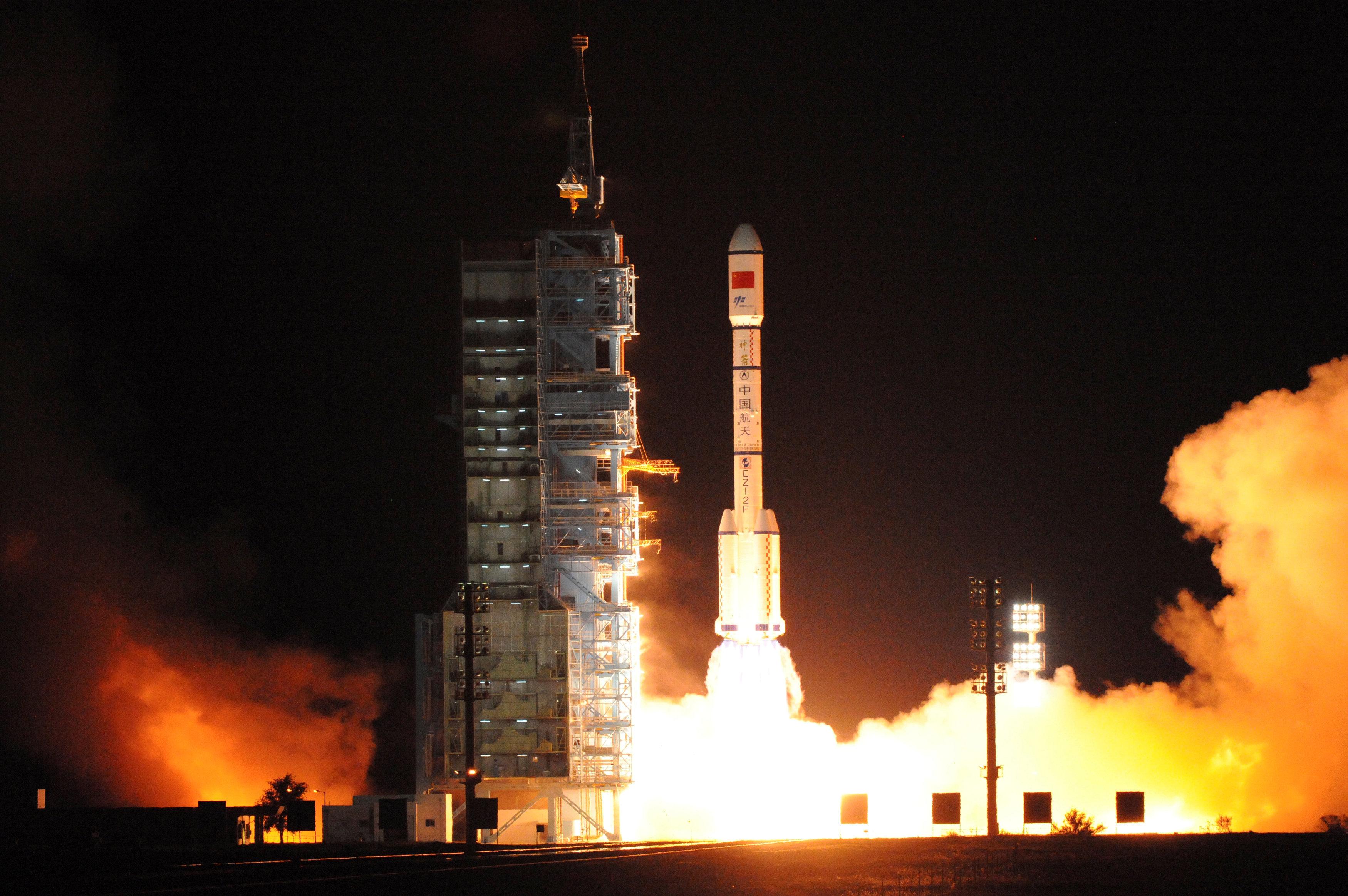 China lanza al espacio el laboratorio habitable Tiangong-2