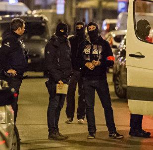 Policía de Bruselas (archivo)