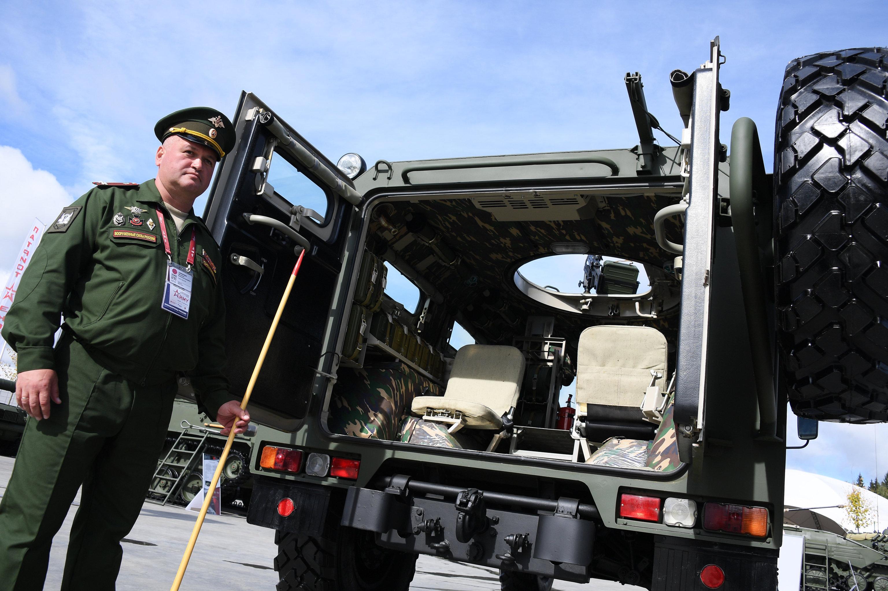 Vehículo blindado Tigr-M