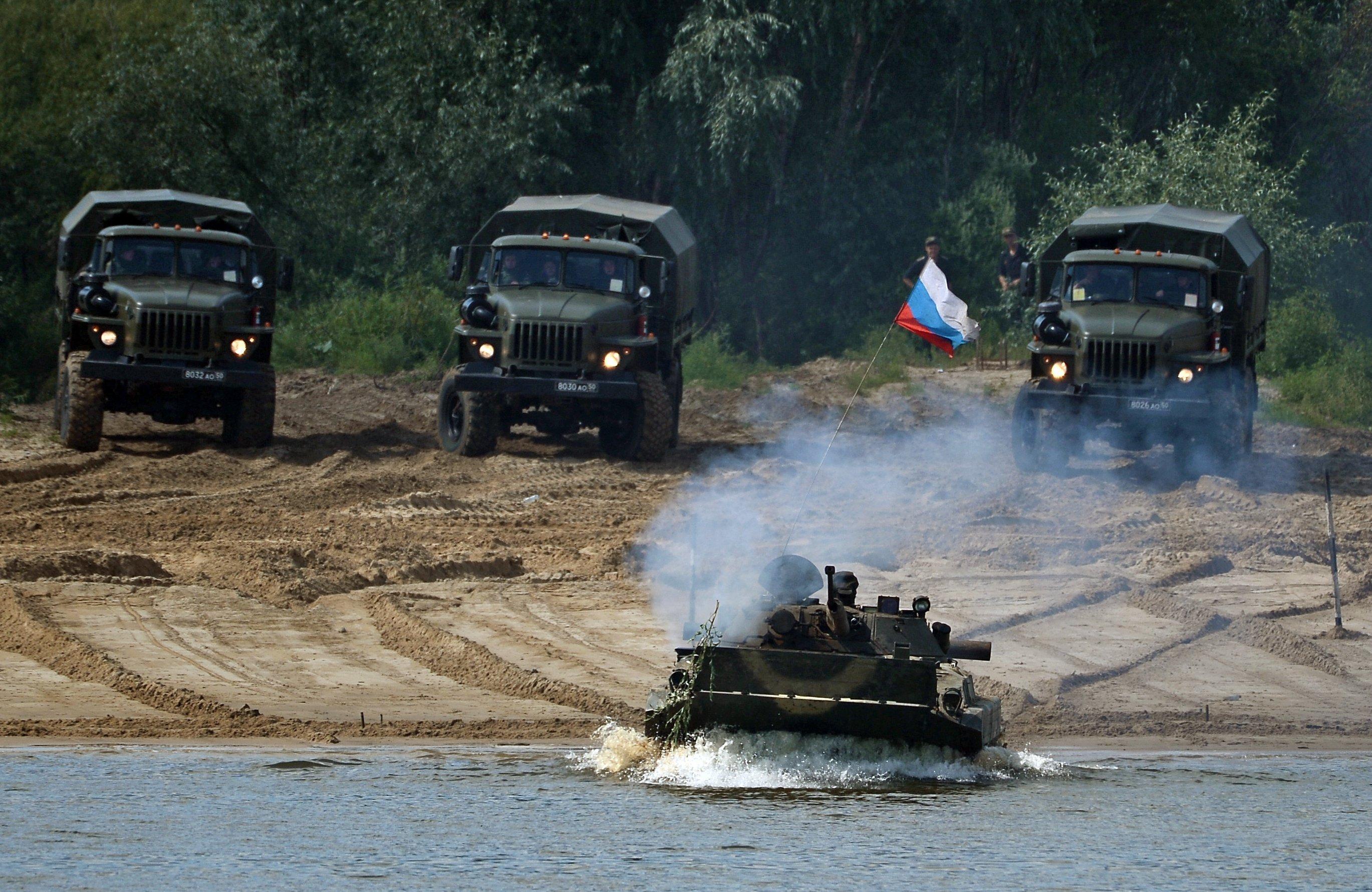 Camión todoterreno Ural-4320