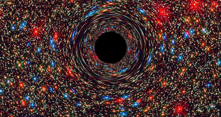 Agujero negro (ilustración)