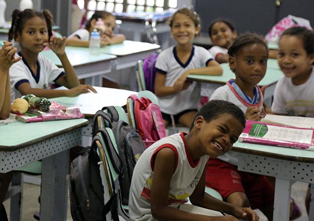 Una escuela brasileña