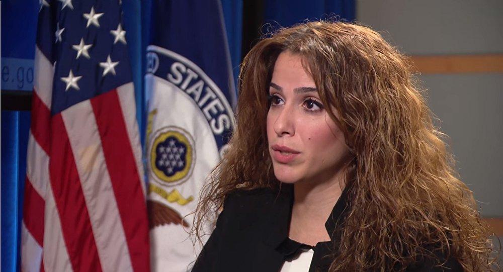 Sahar Nowrouzzadeh, la nueva portavoz del Departamento de Estado de EEUU