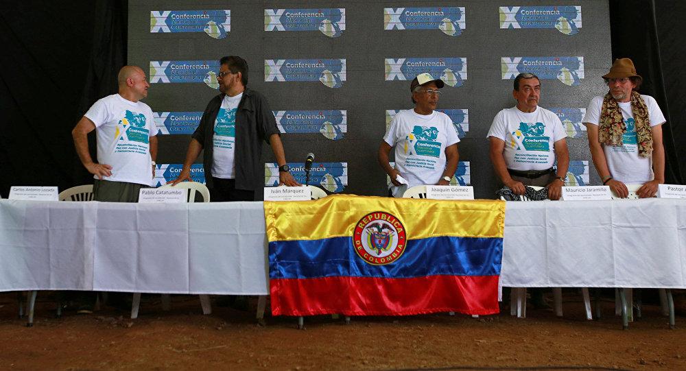 Décima Conferencia Guerrillera de las FARC en Colombia