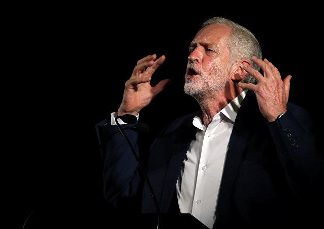 Jeremy Corbyn, líder británico de la oposición
