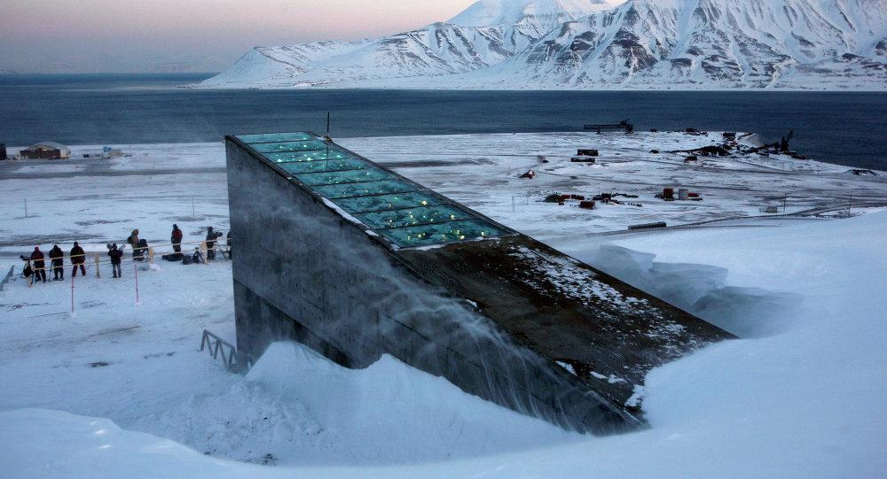 Banco Mundial de Semillas en la isla de Svalbard, Noruega