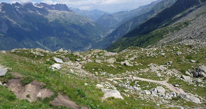 La región francesa de Auvernia-Ródano-Alpes