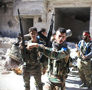 Ejército sirio en Handarat