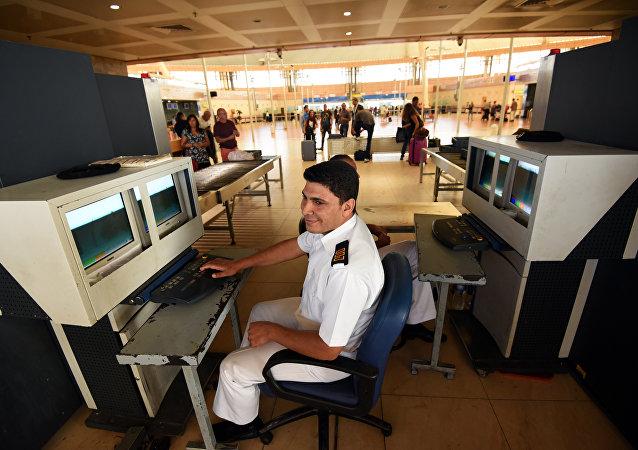 La seguridad en los aeropuertos de Egipto