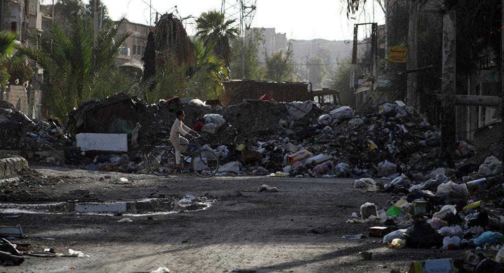 La ciudad siria de Deir Ezzor