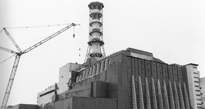 La central nuclear de Chernóbil