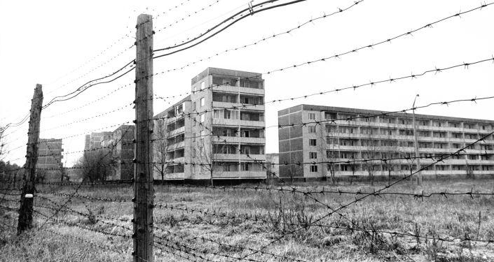 Edificios abandonados en Chernóbil