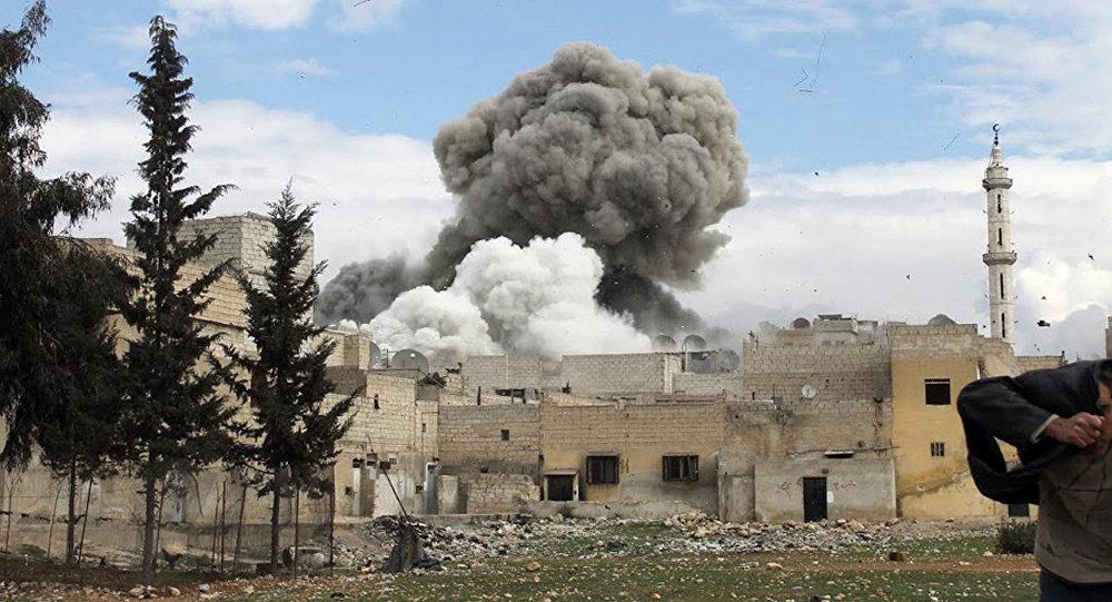 Una explosión en Siria (Archivo)