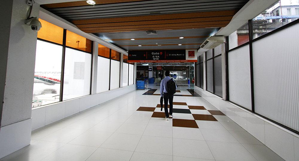 El aeropuerto internacional Hazrat Shahjalal de Daca