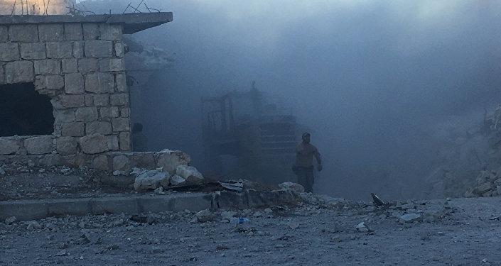 La situación en Alepo (archivo)