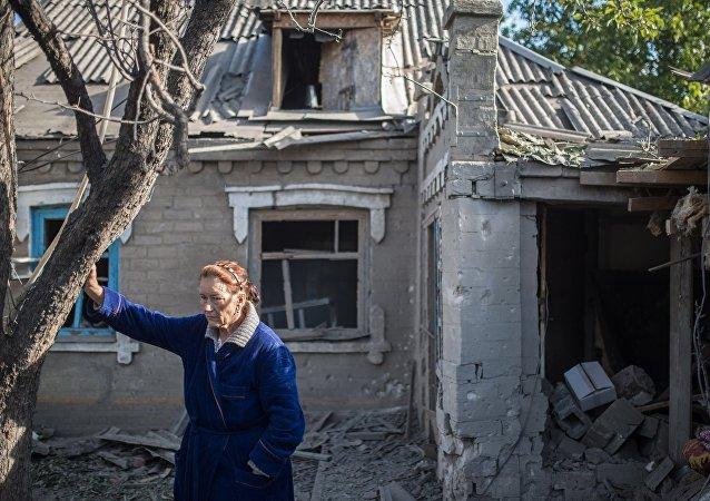 Civiles de Donbás