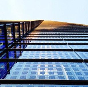 Un edificio alto (archivo)