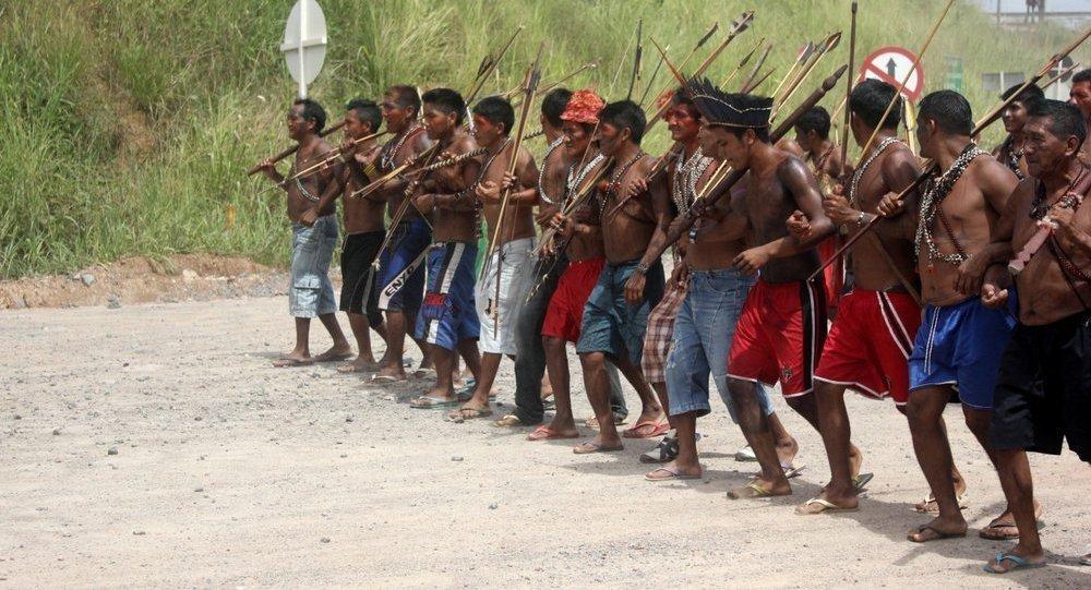 Los indígenas de Brasil