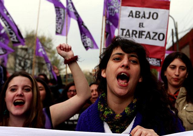 Una manifestación contra las políticas del Gobierno argentino en Buenos Aires, el 16 de septiembre
