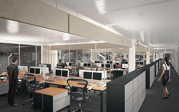 La triste realidad de las oficinas abiertas y compartidas for Oficinas compartidas