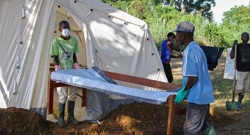 La epidemia de cólera en la República Centroafricana (archivo)