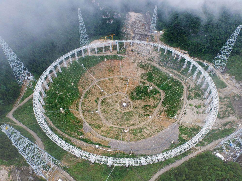 Así es el radiotelescopio que contribuirá a buscar vida en otros planetas