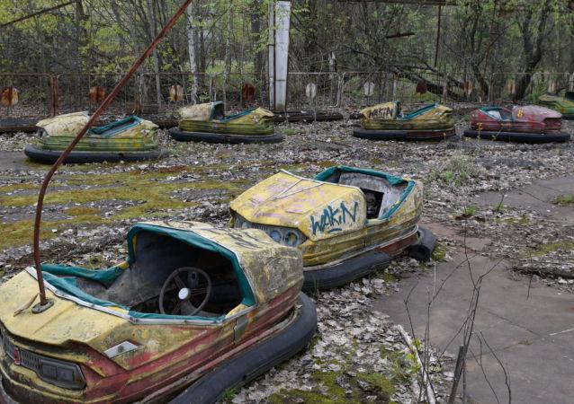 'Zona de alienación' en Chernóbil